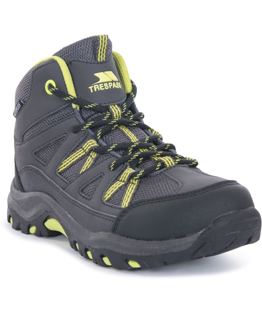 Image for Trespass Boys Gillon Breathable Durable Laced Walking Boots