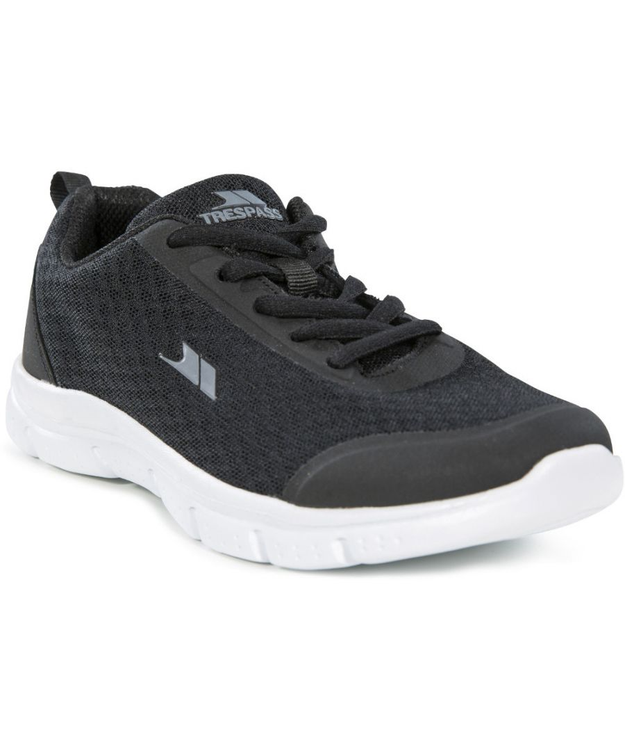 Image for Trespass Boys Tracking Lightweight Memory Foam Trainers
