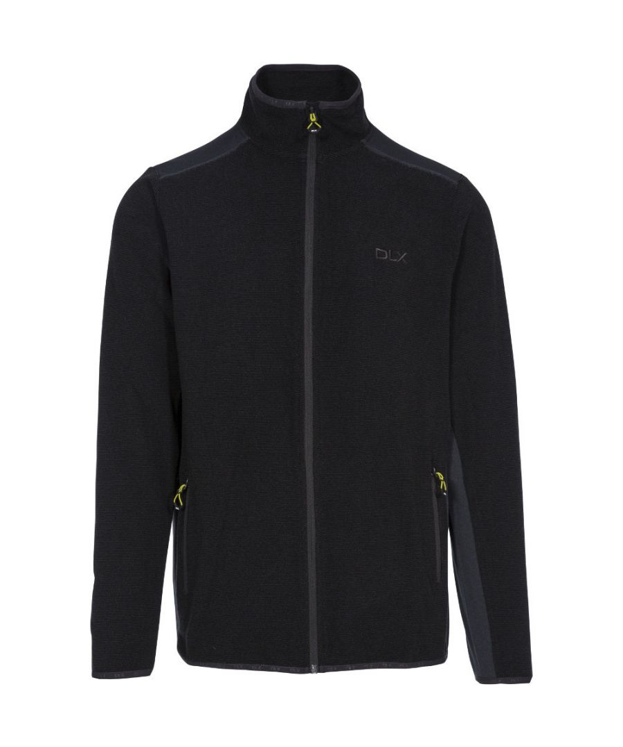 Image for Trespass Mens Sturgess DLX Full Zip Contrast Fleece Jacket