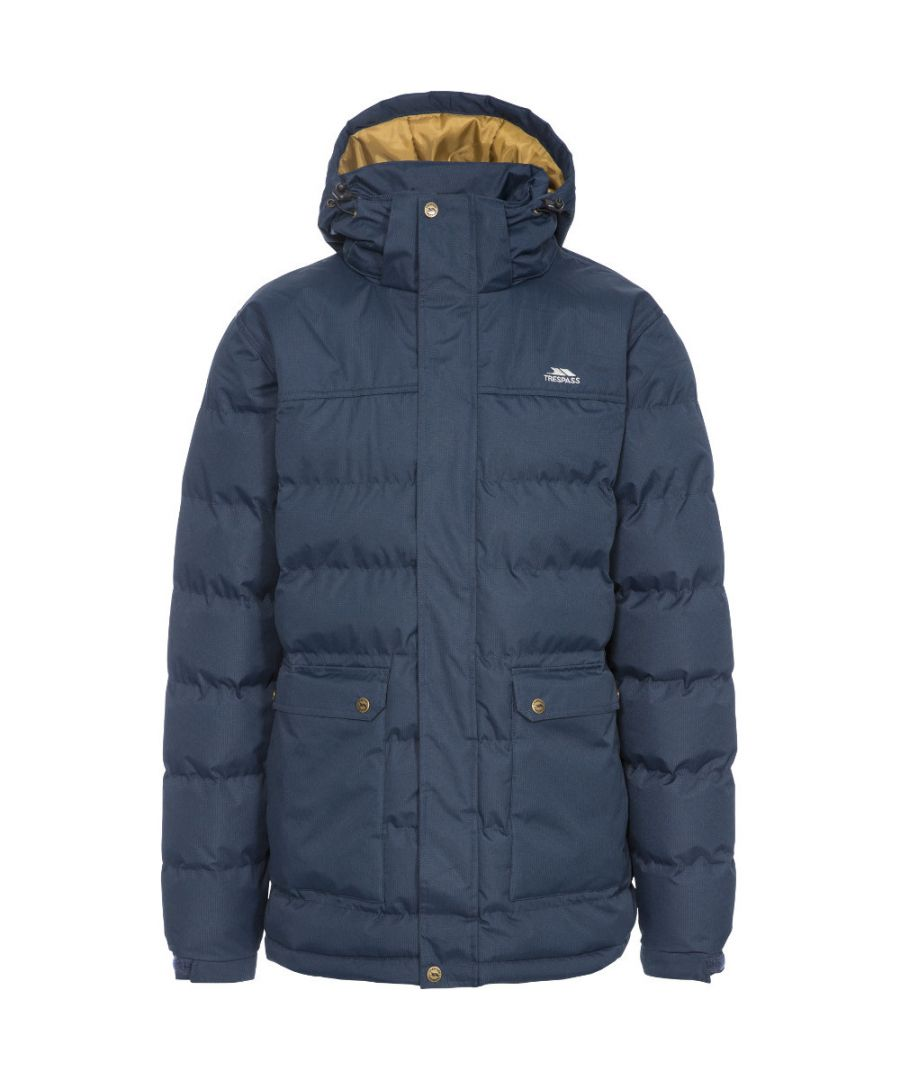 Image for Trespass Mens Specter Insulated Padded Waterproof Jacket