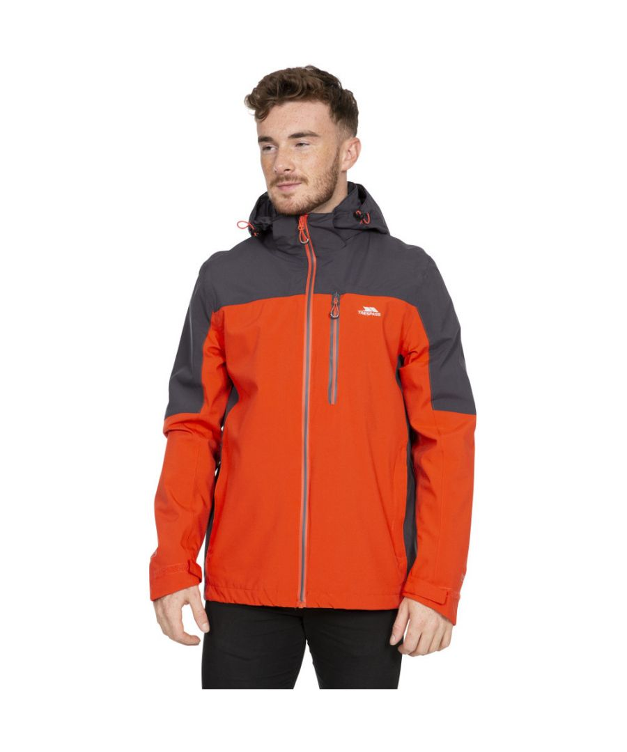 Image for Trespass Mens Tappin Waterproof Breathable Stretch Jacket