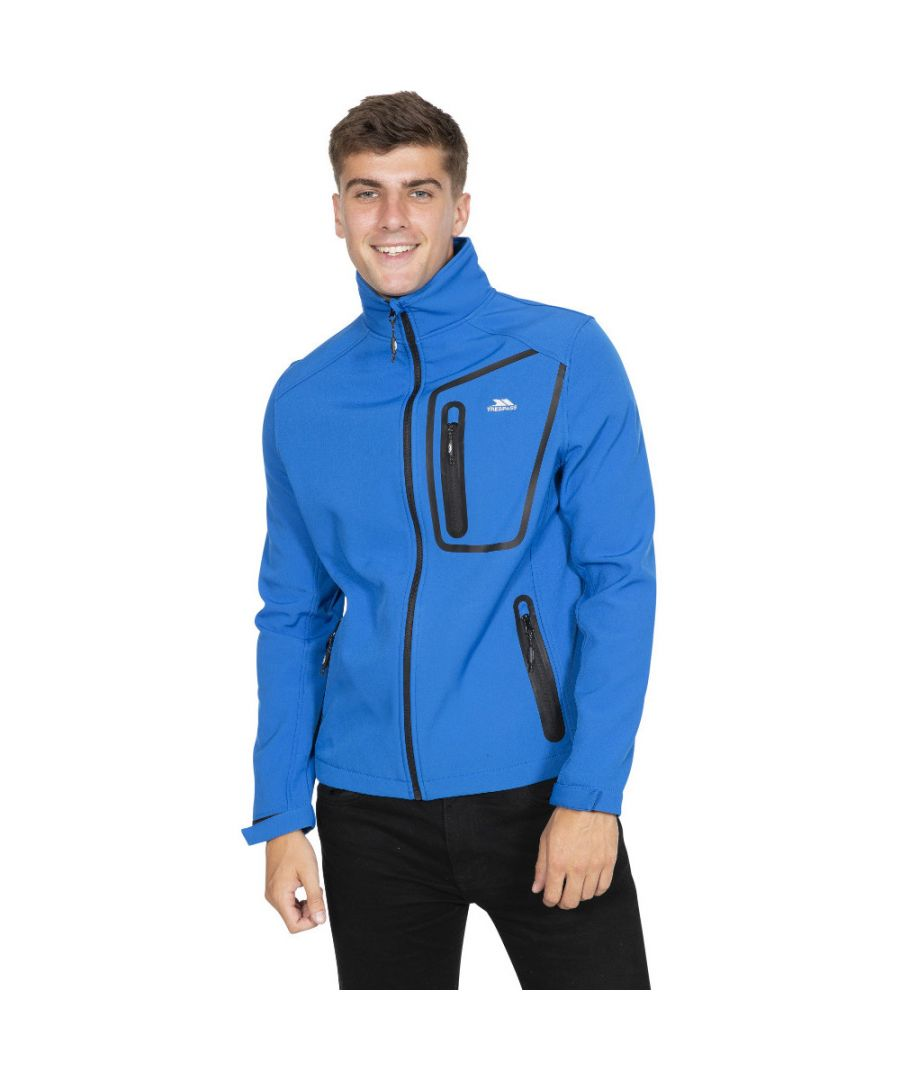 Image for Trespass Mens Hotham TP50 Light Windproof Softshell Jacket