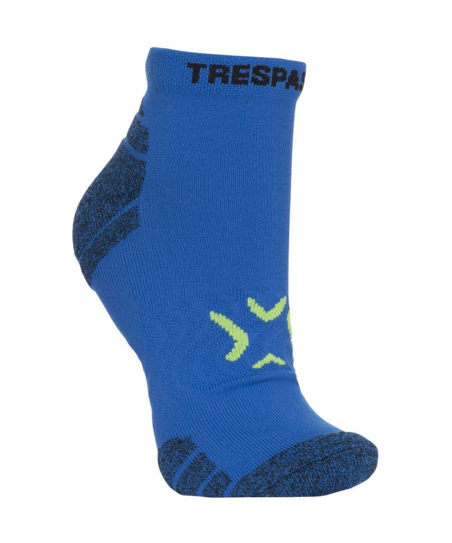 Image for Trespass Mens Olrun Non Slip Breathable Ankle Liner Socks