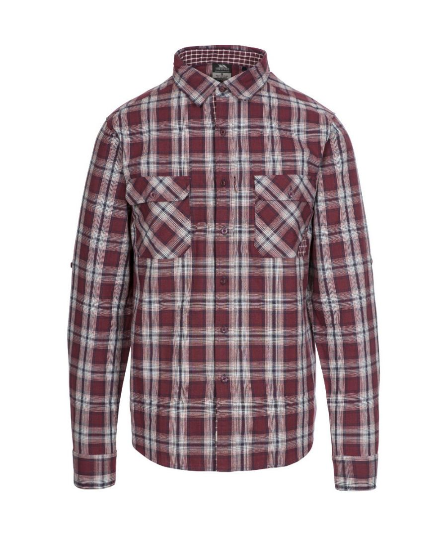 Image for Trespass Mens Shottery Button Down Long Sleeve Casual Shirt