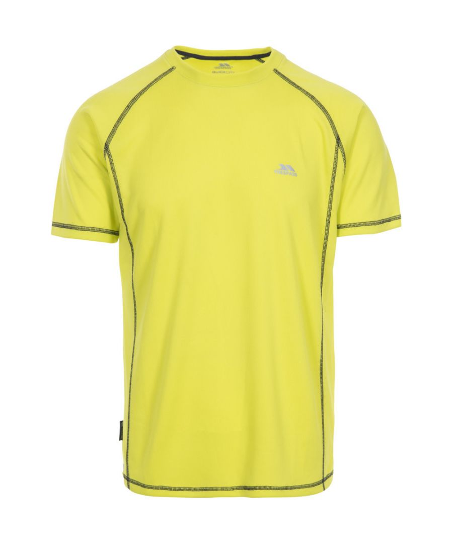 Image for Trespass Mens Albert TP50 Quick Dry Reflective Running Tee