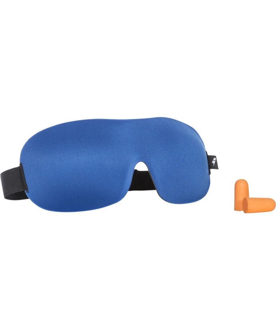 Image for Trespass Mens Kip Two Layer Shaped Foam Travel Eye Mask