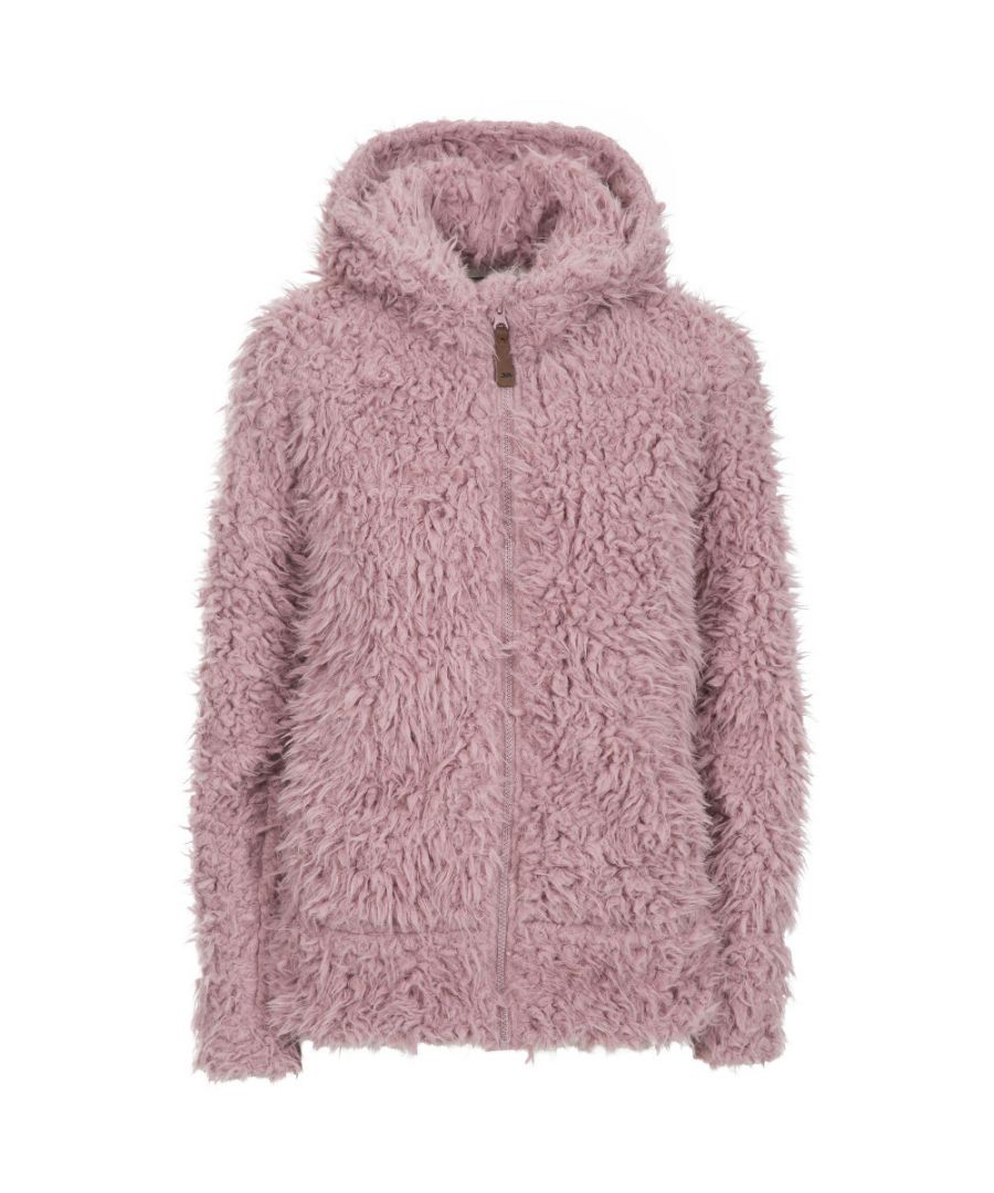 Image for Trespass Womens Fluffyness Airtrap Fluffy Fleece Jacket Coat