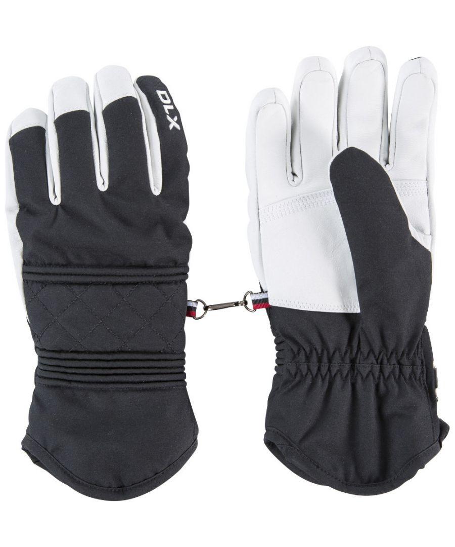 Image for Trespass Womens Derigi DLX Warm Adjustable Lined Ski Gloves
