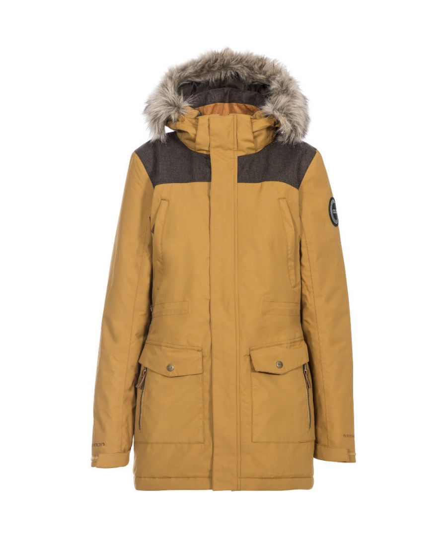 Image for Trespass Womens Rosario DLX Insulated Waterproof Parka Coat
