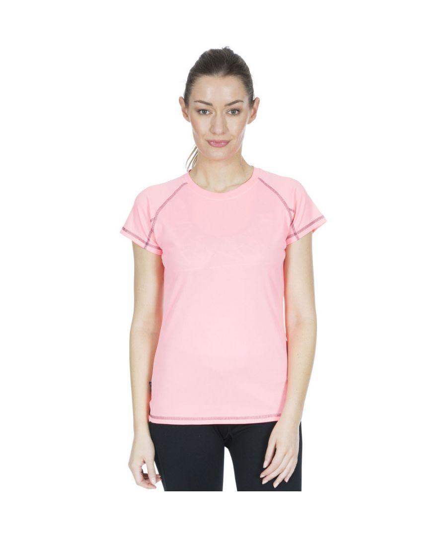 Image for Trespass Womens Viktoria TP50 Quick Dry Short Sleeve T Shirt