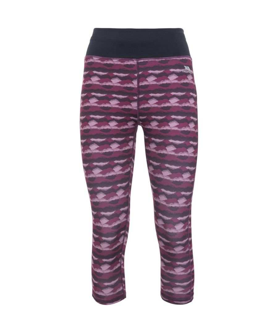 Image for Trespass Womens Harper Sweat Wicking Active Cropped Leggings