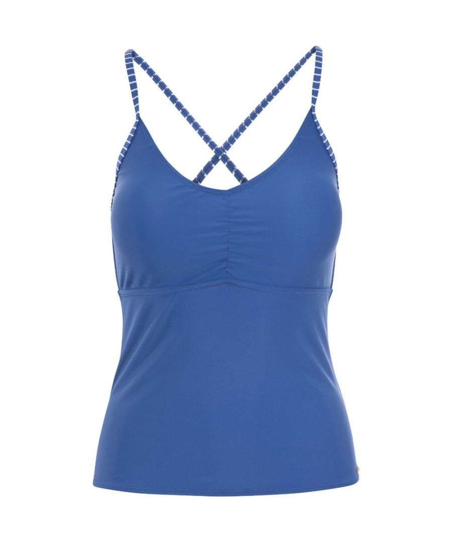 Image for Trespass Womens Martha Swimwear Adjustable Tankini Top