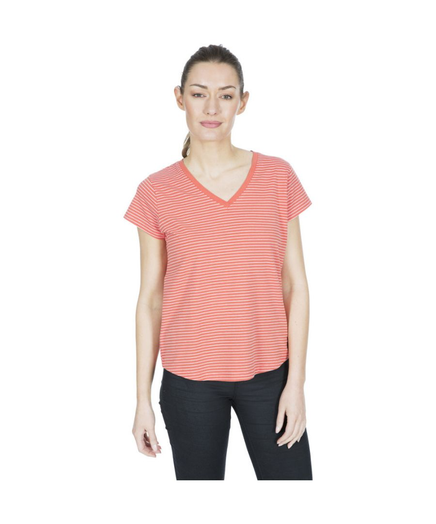Image for Trespass Womens Konnie V Neck Short Sleeve T Shirt