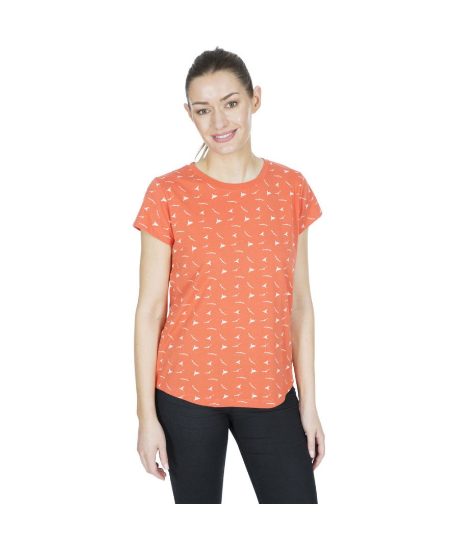 Image for Trespass Womens Carolyn Printed Round Neck T Shirt