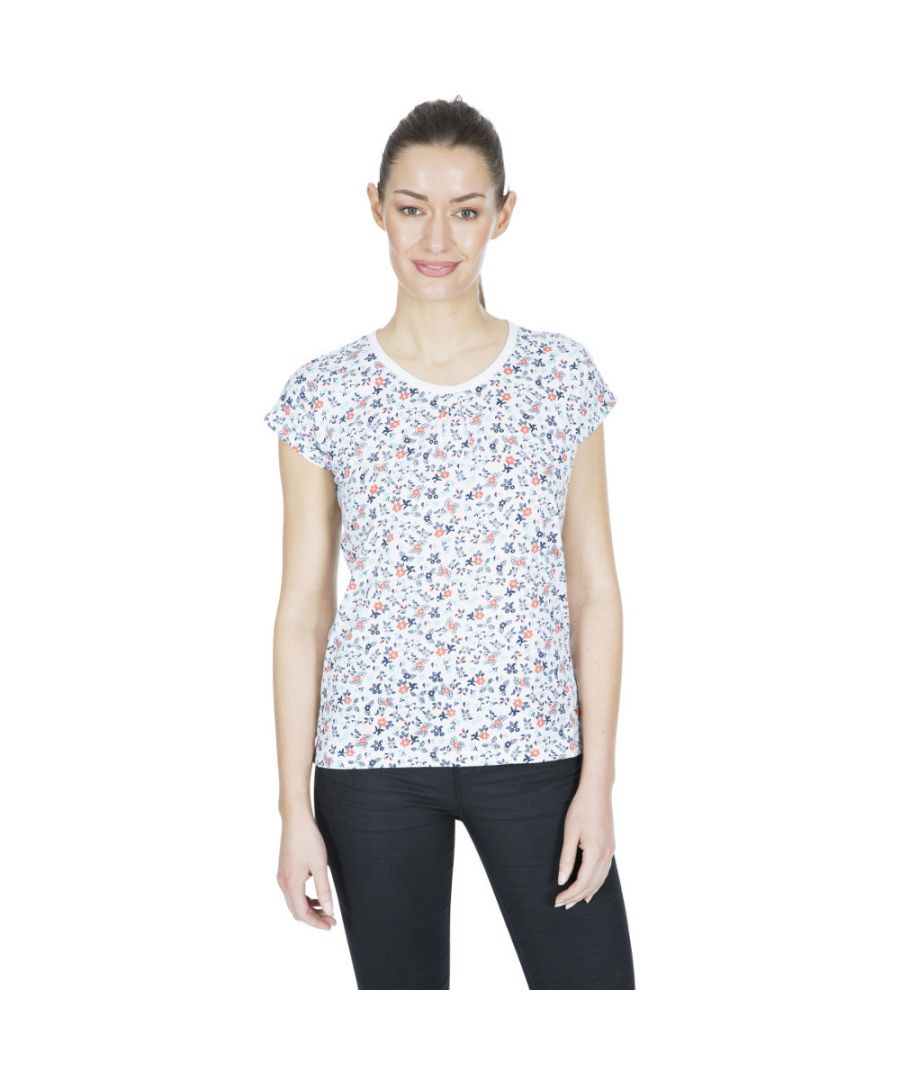 Image for Trespass Womens Charlene Printed Round Neck T Shirt Top