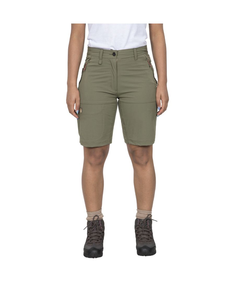 Image for Trespass Womens Rueful Quick Dry Multi Pocket Shorts