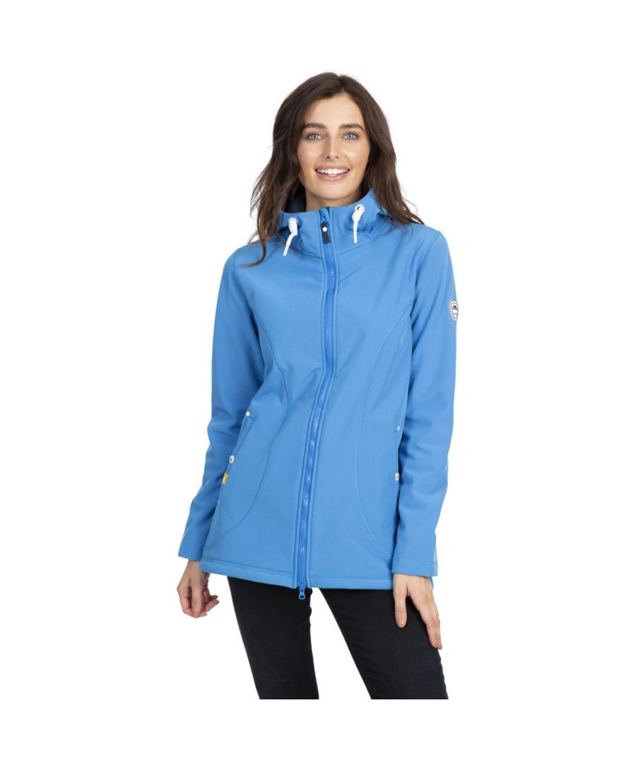 Image for Trespass Womens Kinsley Waterproof Hooded Softshell Jacket