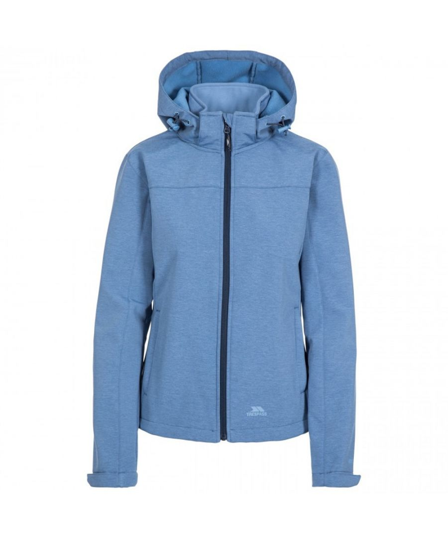 Image for Trespass Womens Leah Breathable Waterproof Softshell Coat