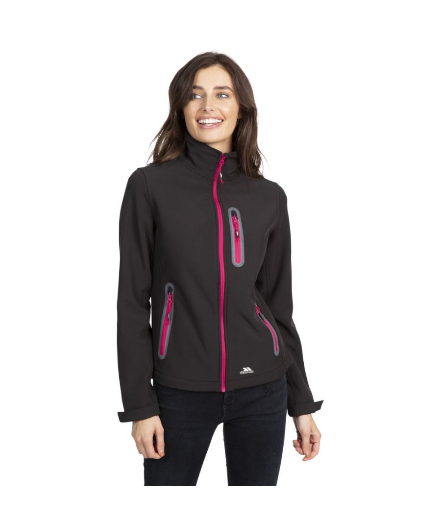 Image for Trespass Womens Hallie Lightweight Softshell Coat