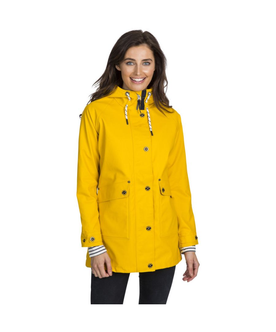 Image for Trespass Womens Shoreline Windproof Waterproof Rain Coat