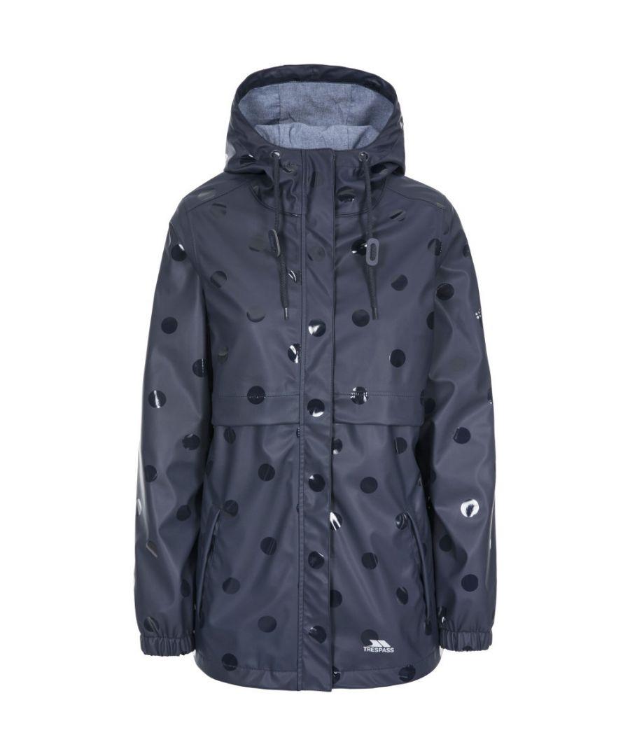 Image for Trespass Womens Farewell Longer Length Waterproof Raincoat