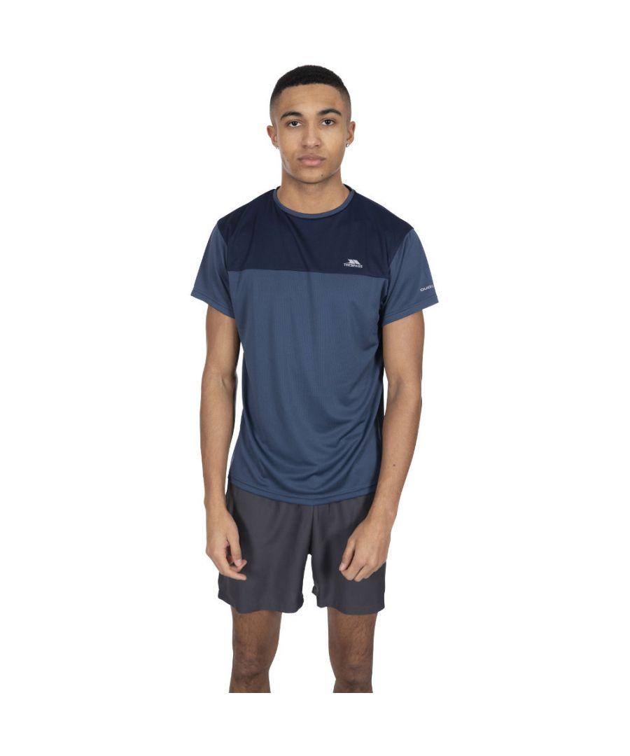 Image for Trespass Mens Jacob Short Sleeve Reflective Running T Shirt