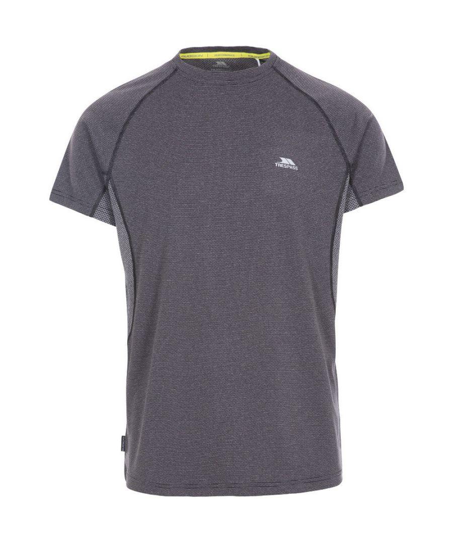 Image for Trespass Mens Noah Short Sleeve Quick Drying Running T Shirt