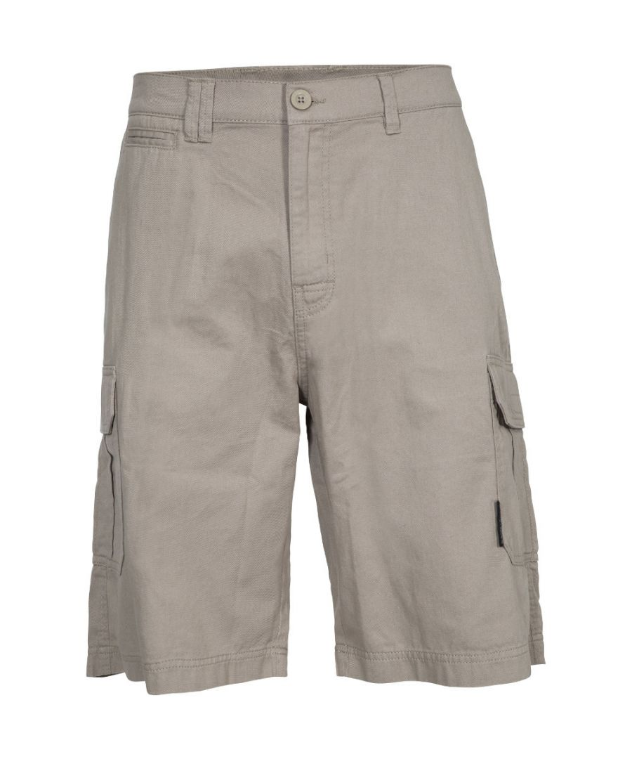 Image for Trespass Mens Rawson Lightweight Breathable Cotton Shorts