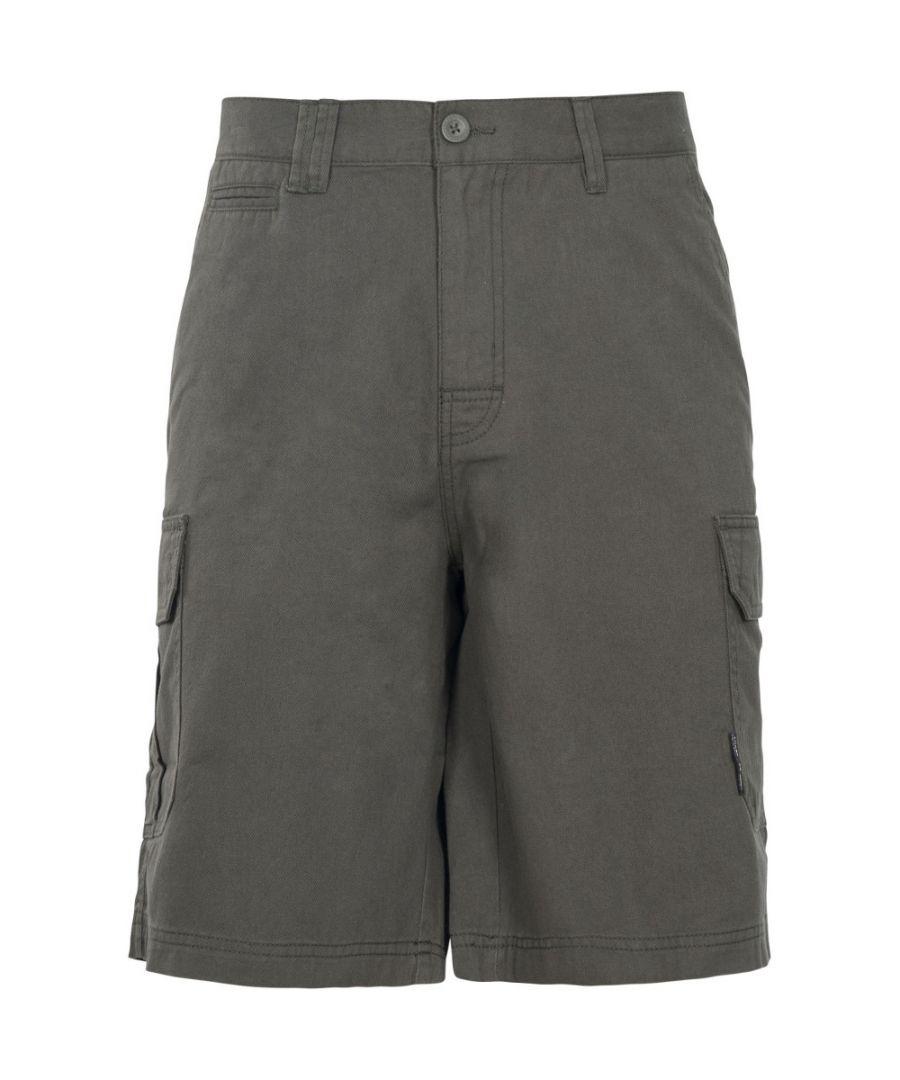 Image for Trespass Mens Rawson Lightweight Breathable Cotton Shorts