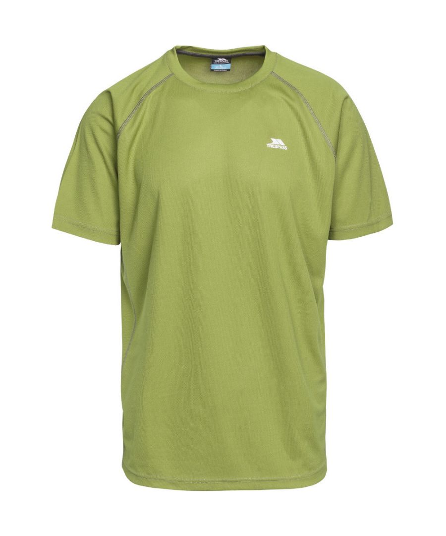 Image for Trespass Mens Debase Quick Dry Wicking Round Neck T Shirt