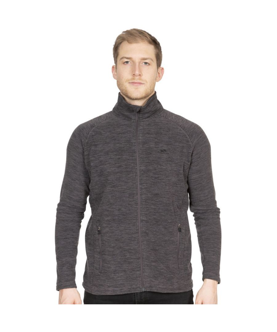 Image for Trespass Mens Veryan Full Zip Marl Fleece Jacket