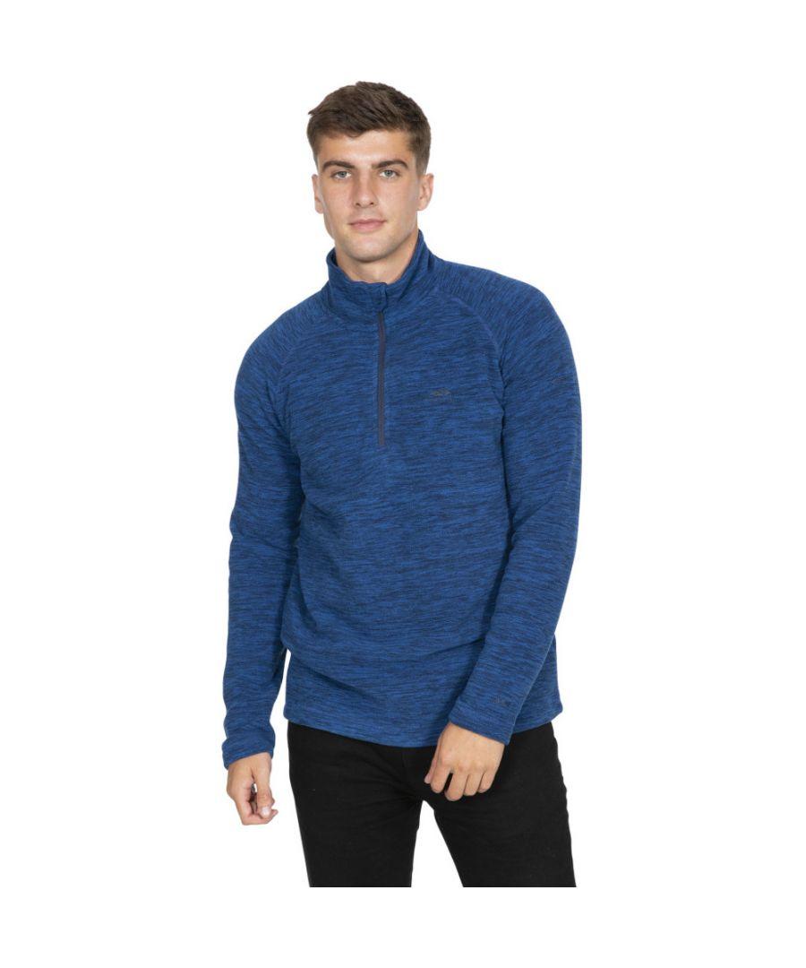 Image for Trespass Mens Crucial Half Zip Fleece Jacket