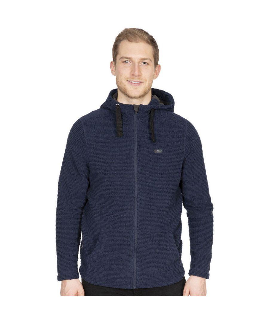 Image for Trespass Mens Napperton Hooded Full Zip Fleece Jacket