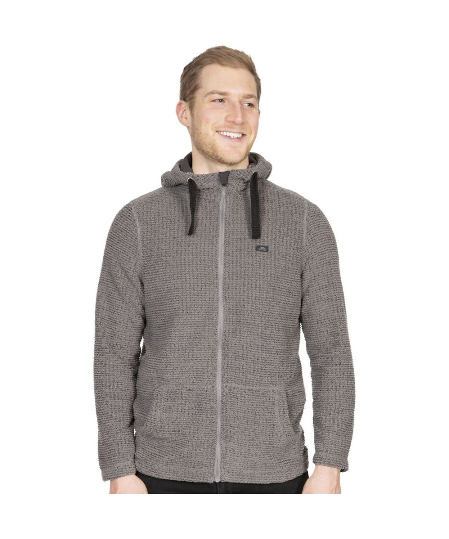 Image for Trespass Mens Napperton Hooded Full Zip Fleece Jacket