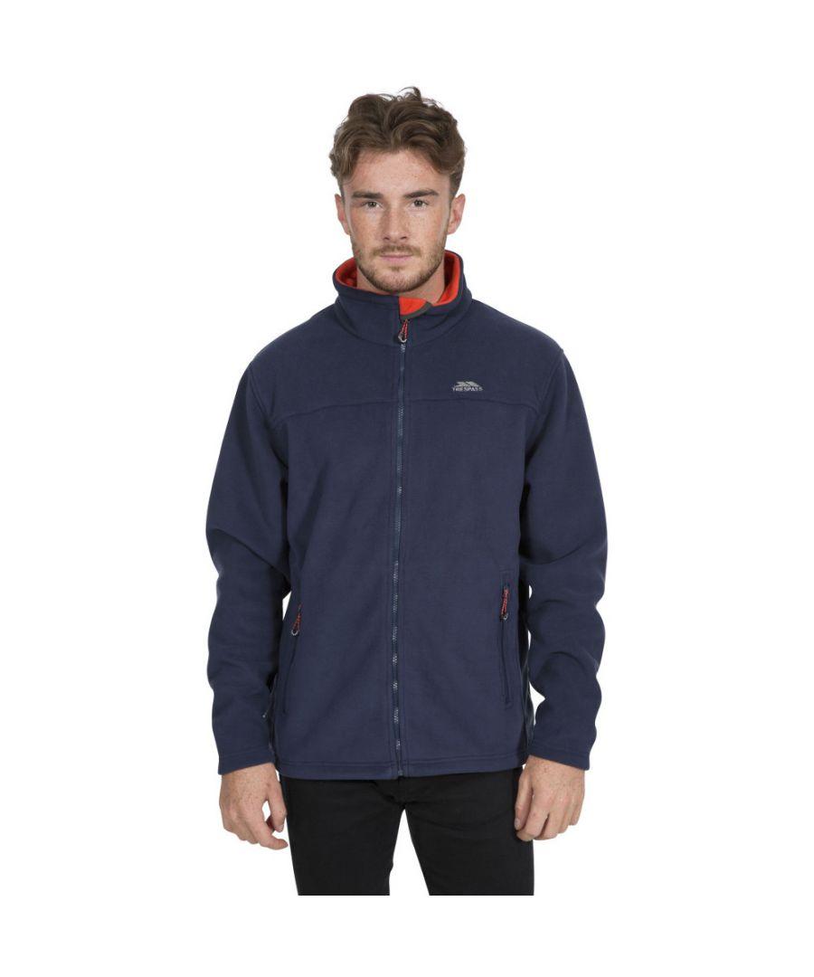 Image for Trespass Mens Tankerville Full Zip Fleece Jacket