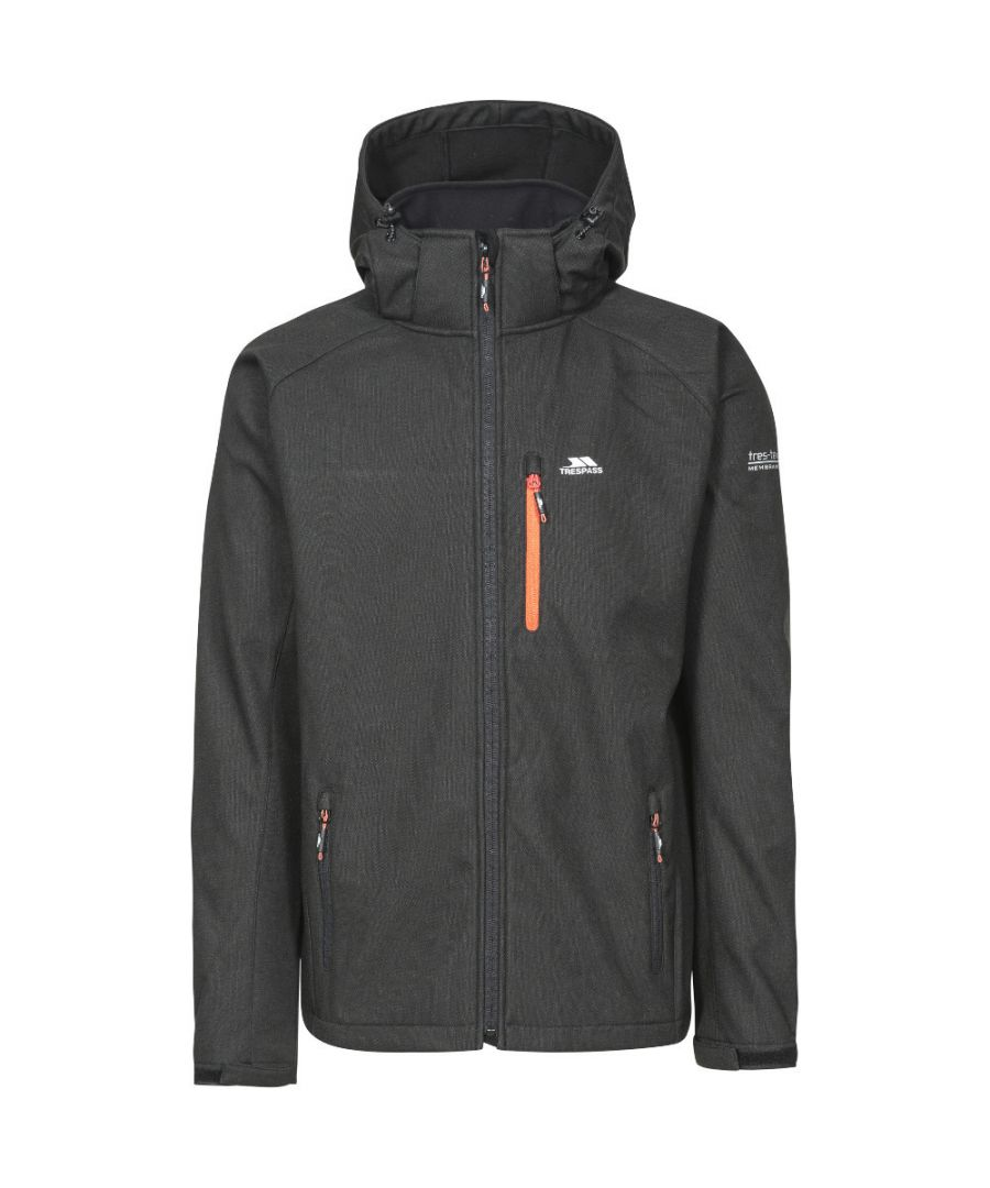 Image for Trespass Mens Desmond Breathable Waterproof Softshell Jacket