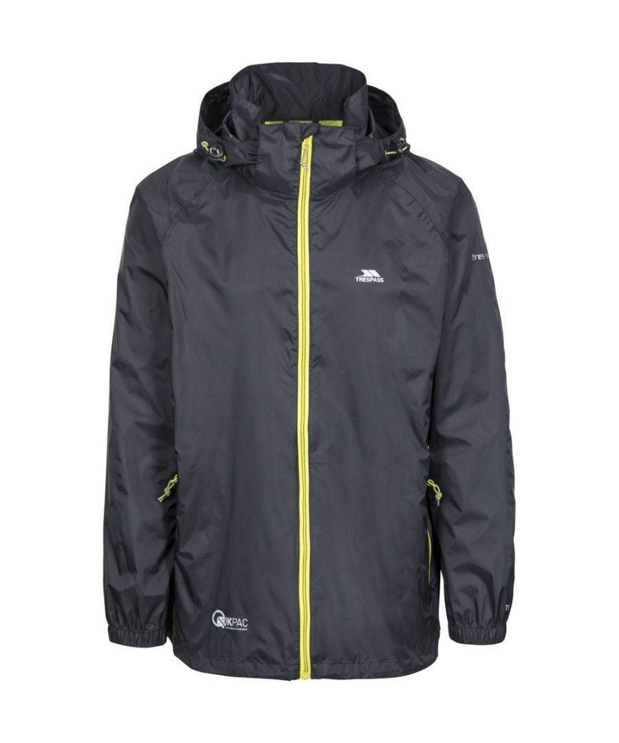 Image for Trespass Mens Qikpac X Breathable Waterproof Packaway Jacket