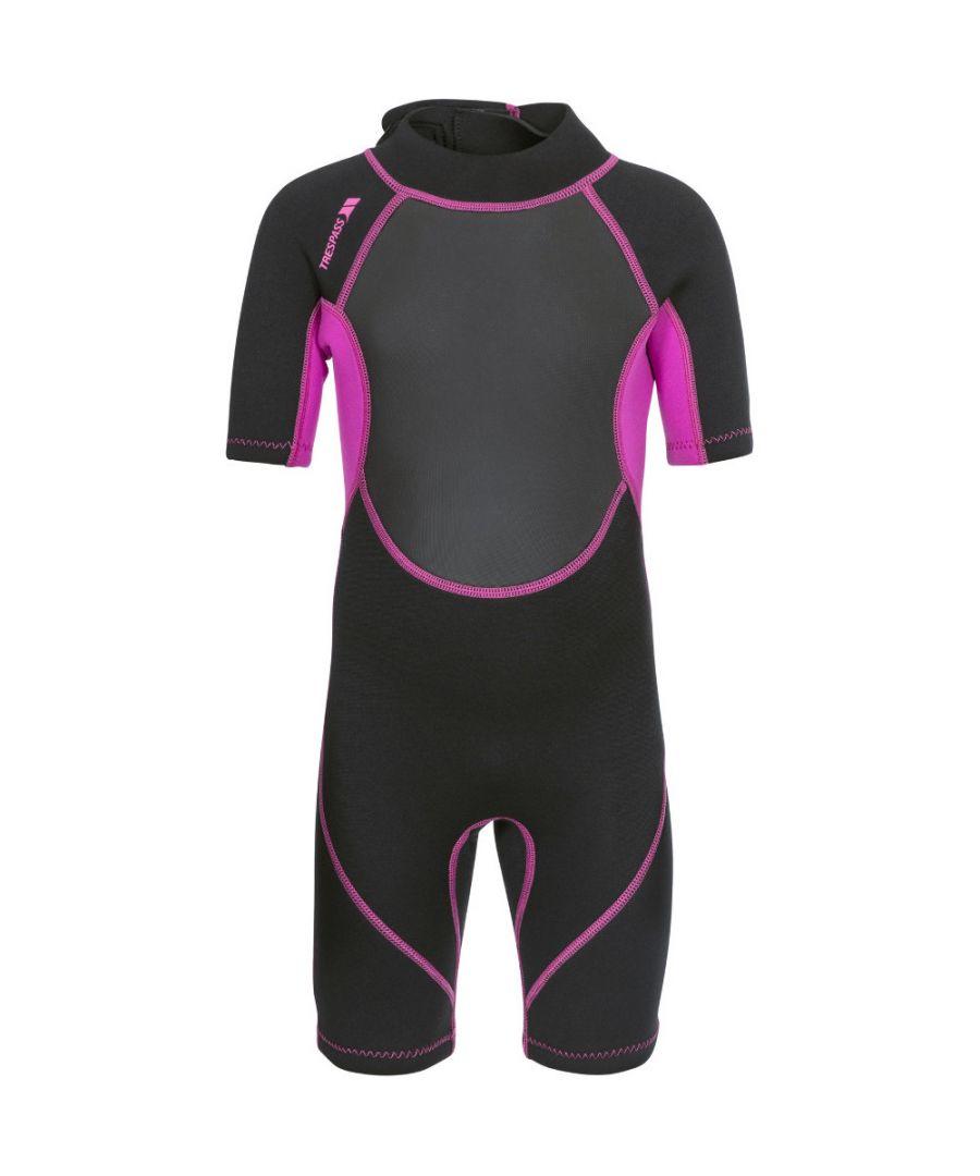 Image for Trespass Girls Scubadive Neoprene 3mm Short Wetsuit