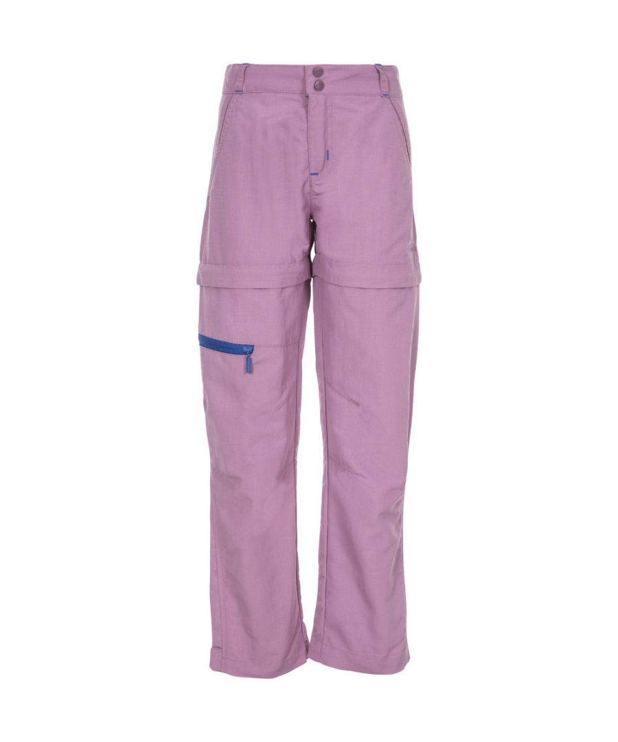 Image for Trespass Girls Defender Adventure Turn Up Zip Off Trousers