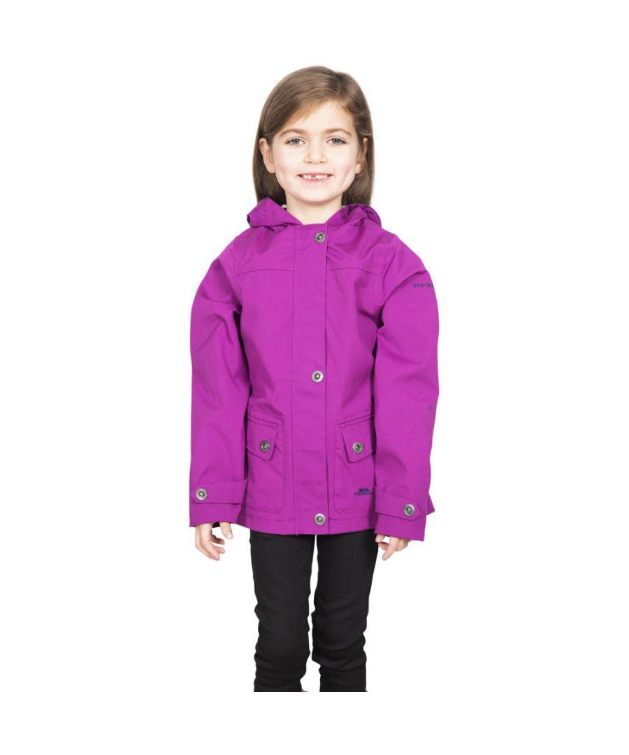 Image for Trespass Girls Seastream Hooded Coat Jacket