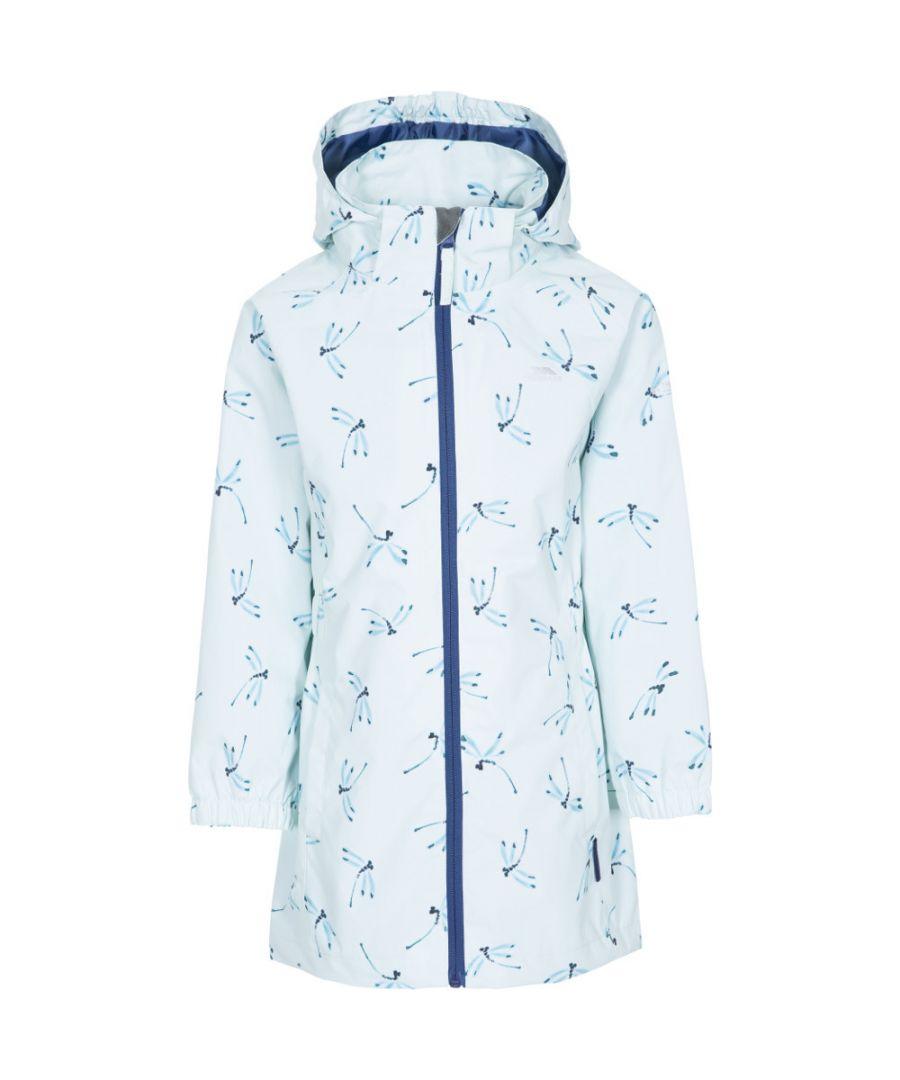Image for Trespass Girls Frejja Waterproof Windproof Coat Jacket