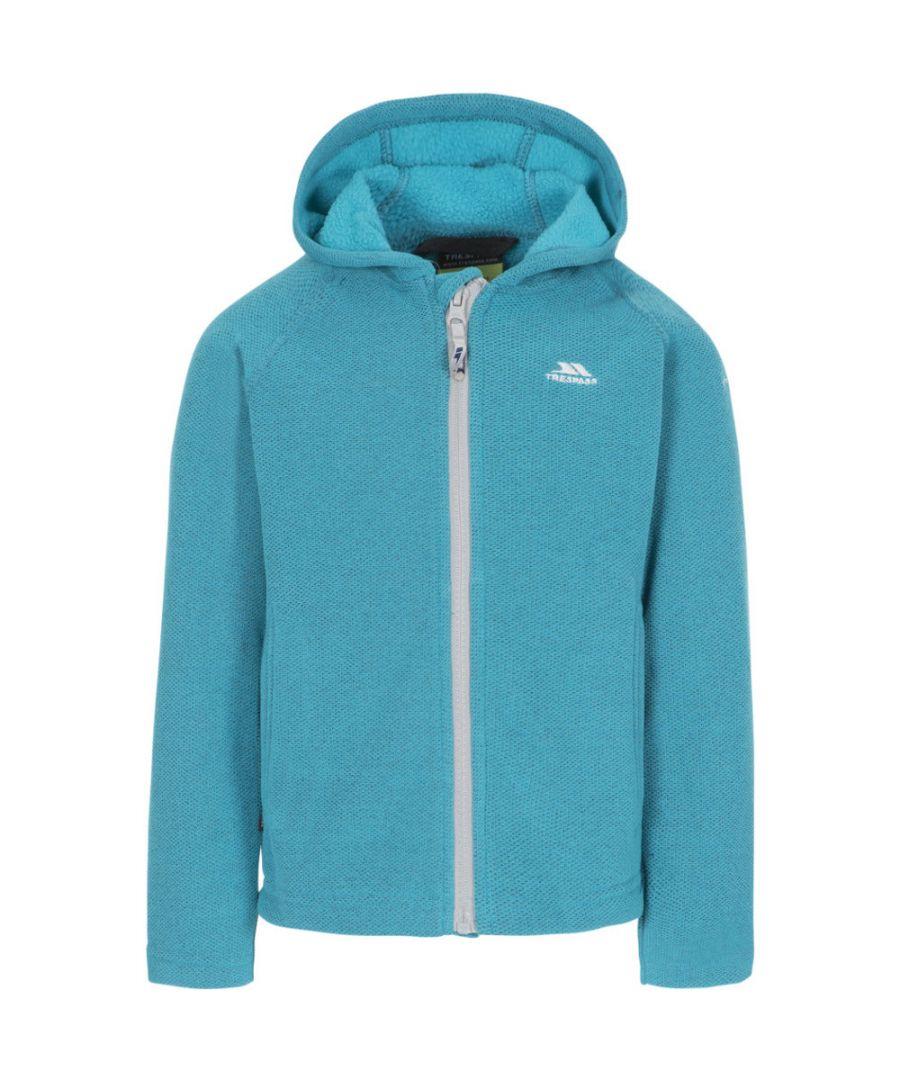 Image for Trespass Girls Captive Full Zip Hooded Fleece Jacket