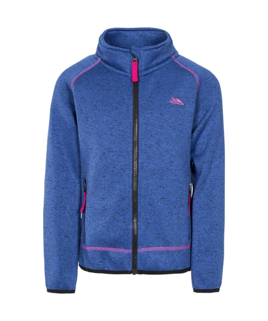 Image for Trespass Girls Thankful Full Zip Airtrap Fleece Jacket