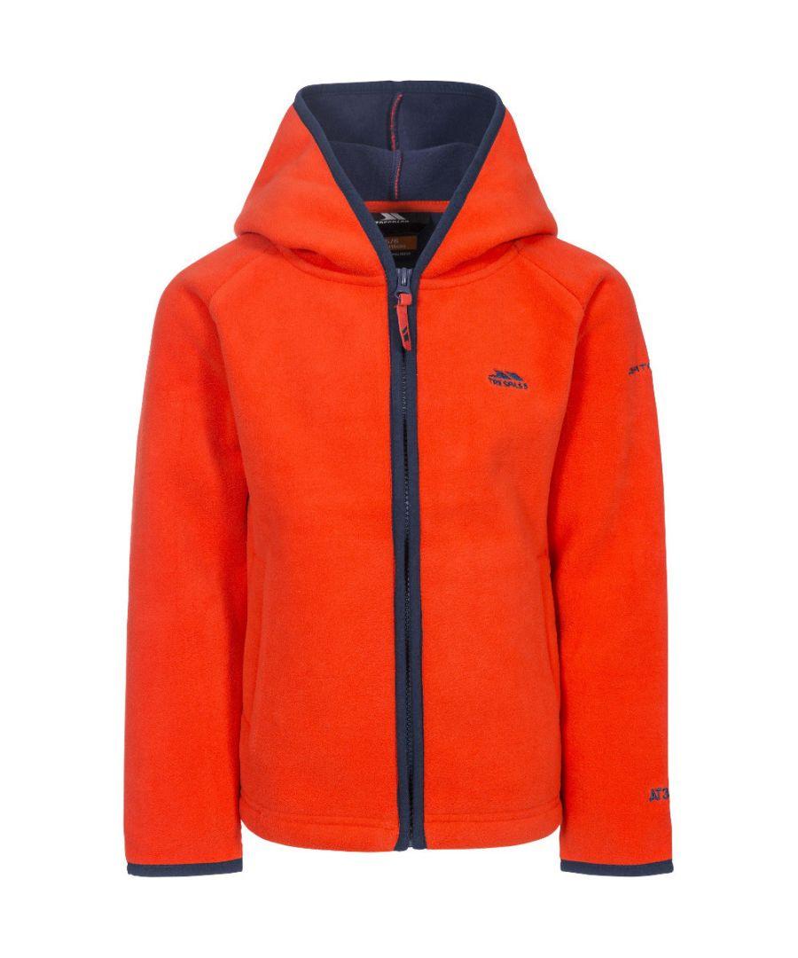 Image for Trespass Boys Mast Full Zip Hooded Fleece Jacket