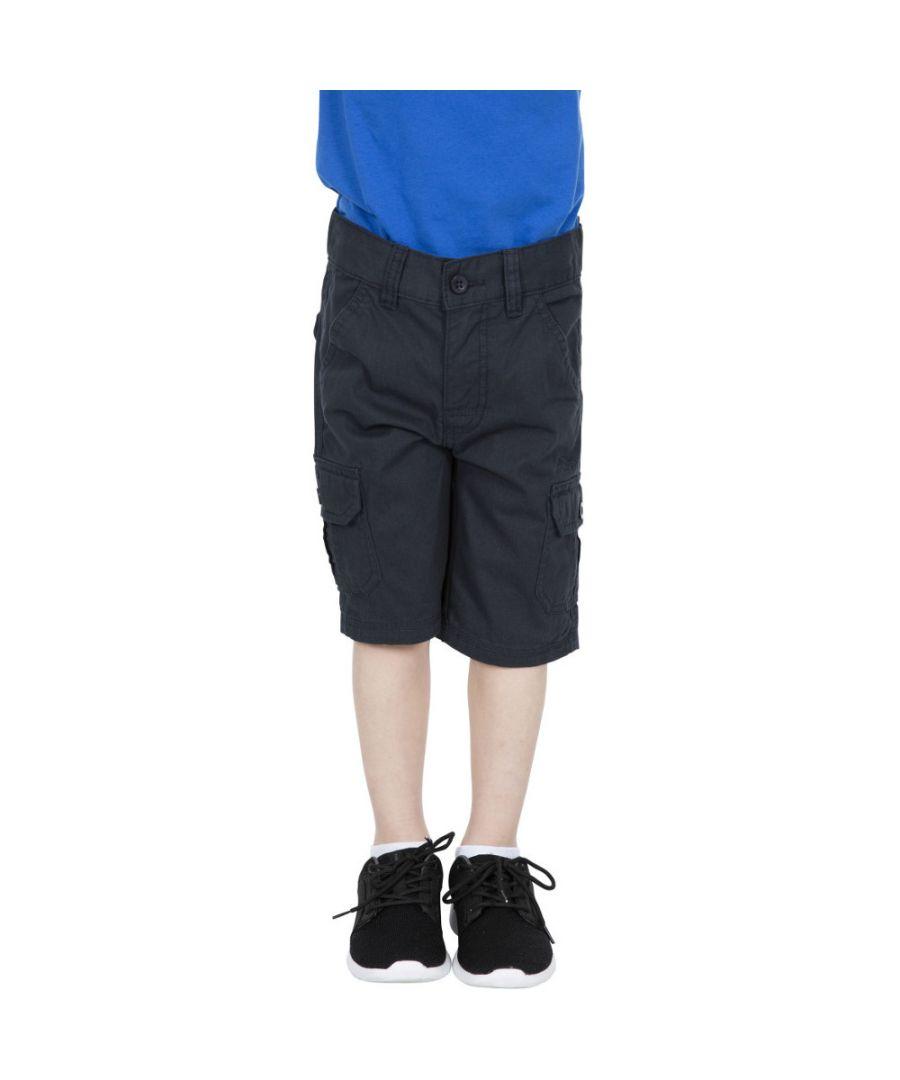 Image for Trespass Boys Jarra Cotton Cargo Shorts
