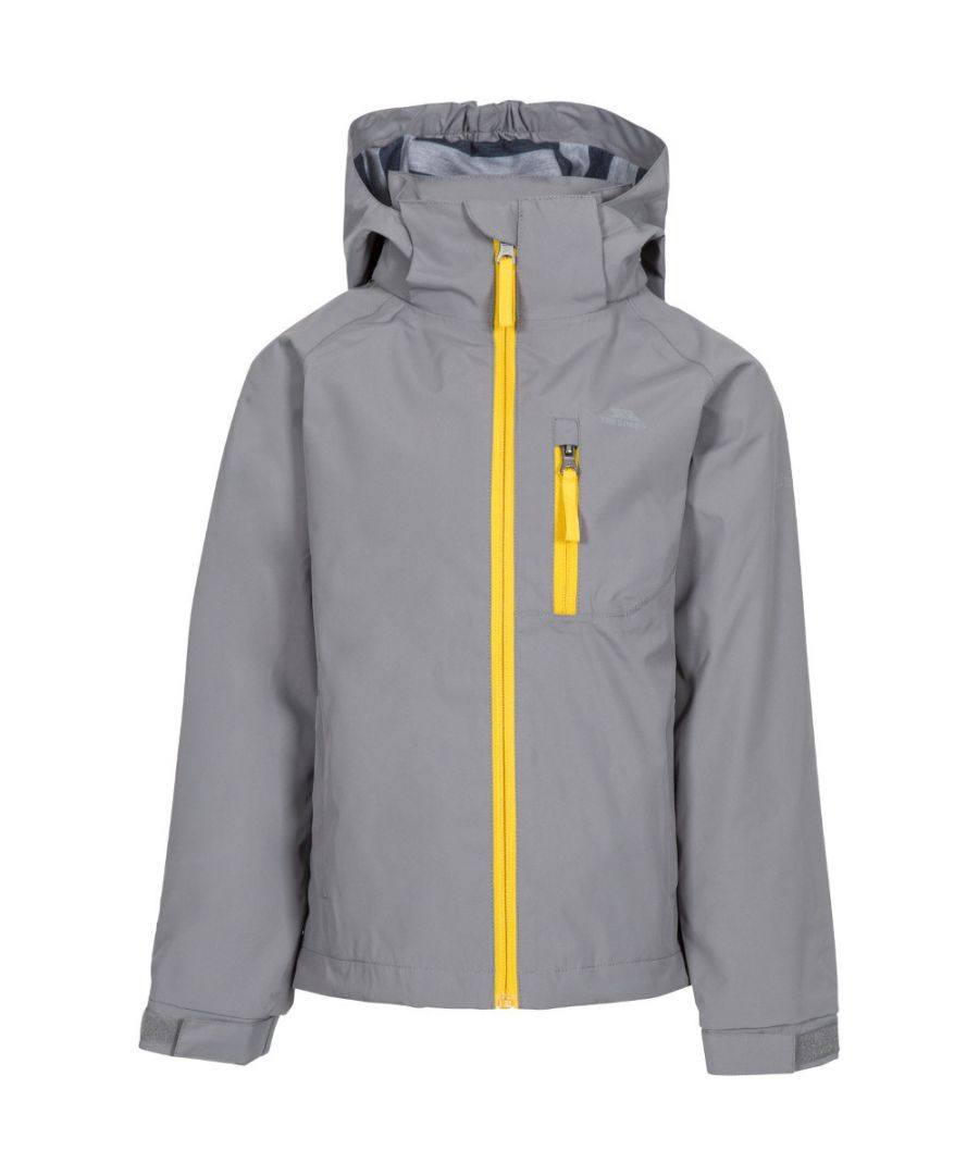 Image for Trespass Boys Overwhelm Windproof Waterproof Hooded Jacket
