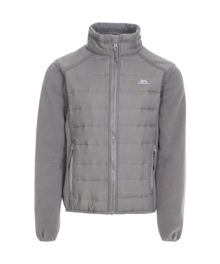 Image for Trespass Boys Ludvig Padded Fleece Jacket