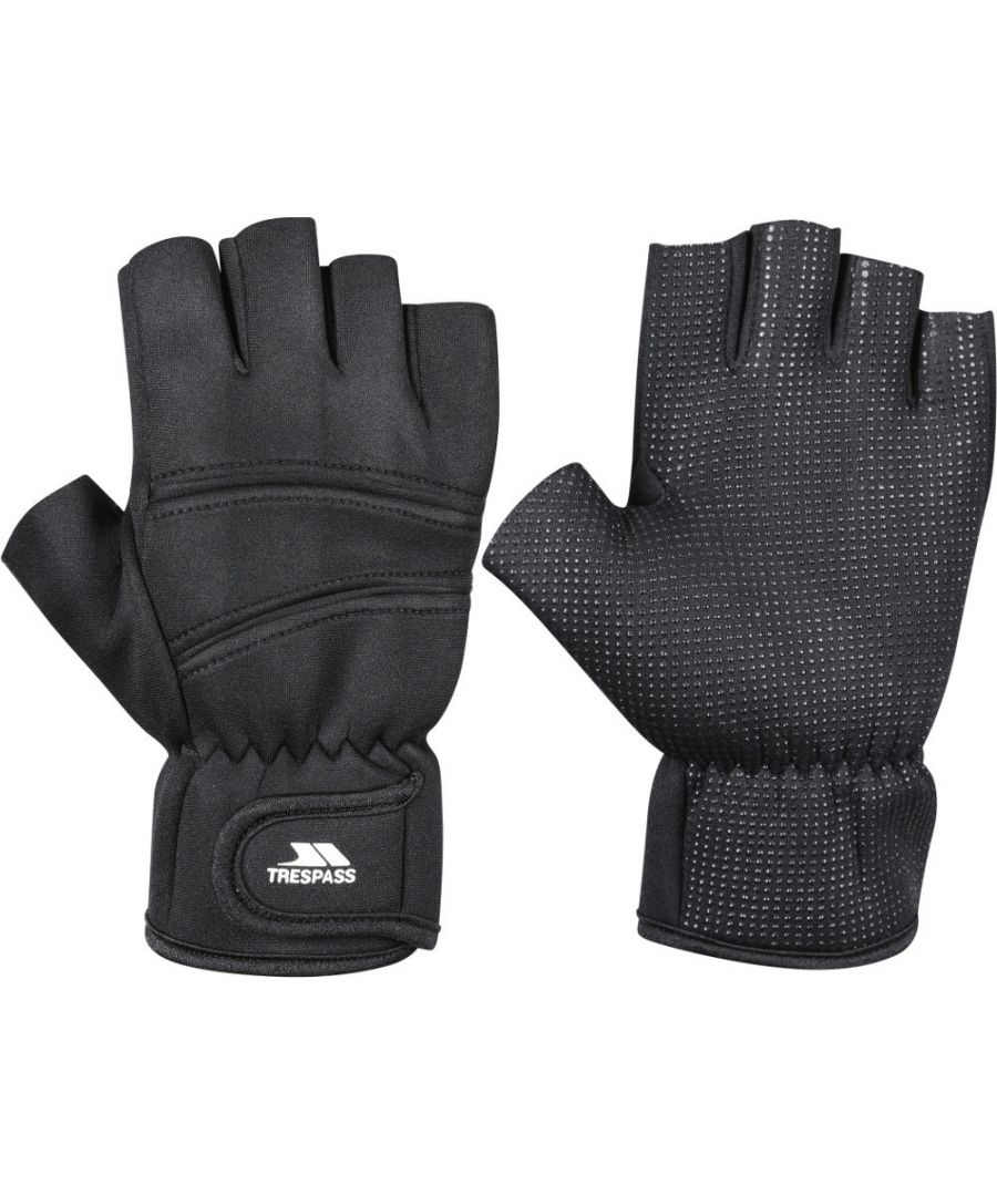 Image for Trespass Mens Carradale Neoprene Fingerless Gloves