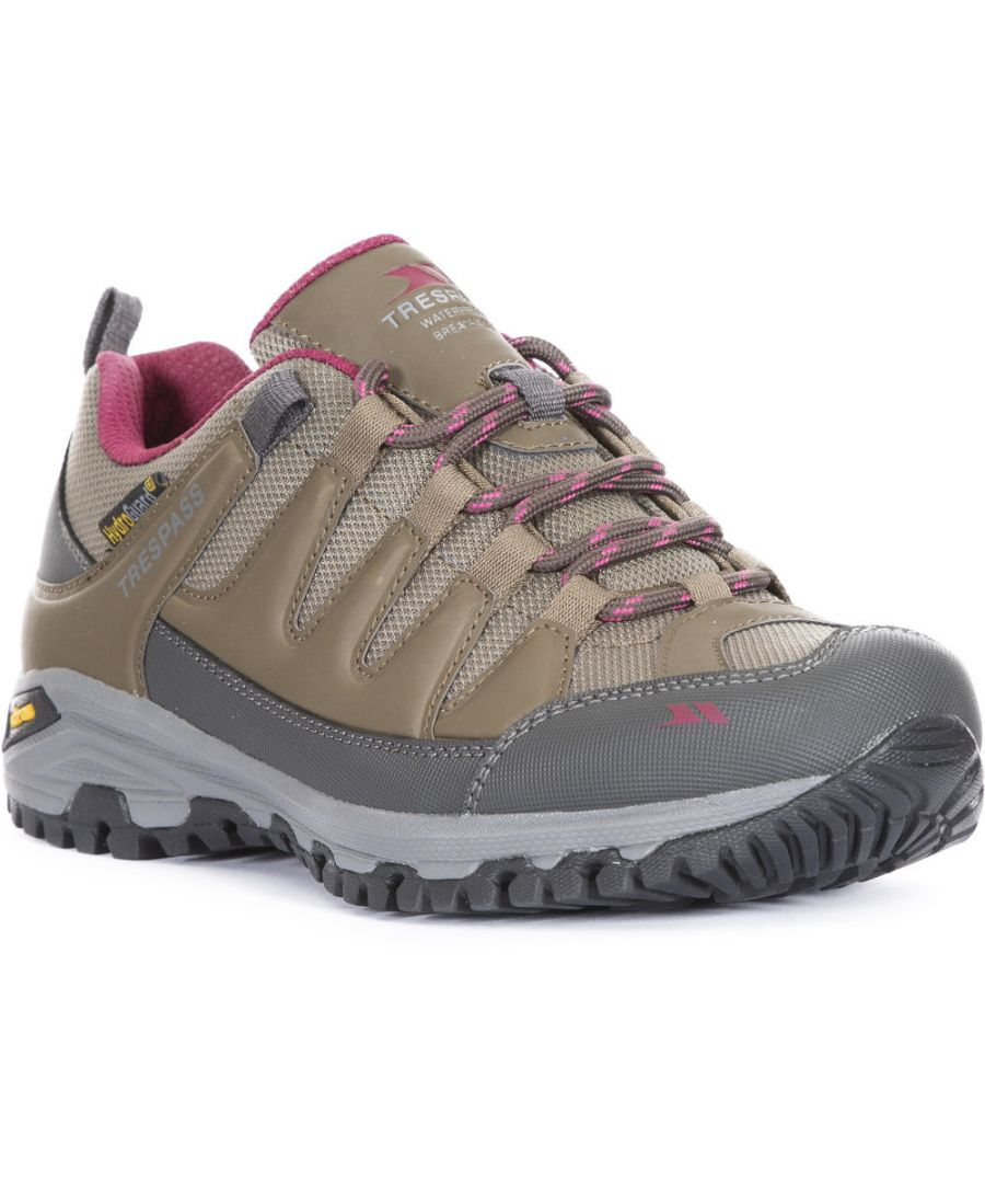Image for Trespass Womens Carnegie Ii Waterproof Walking Shoes