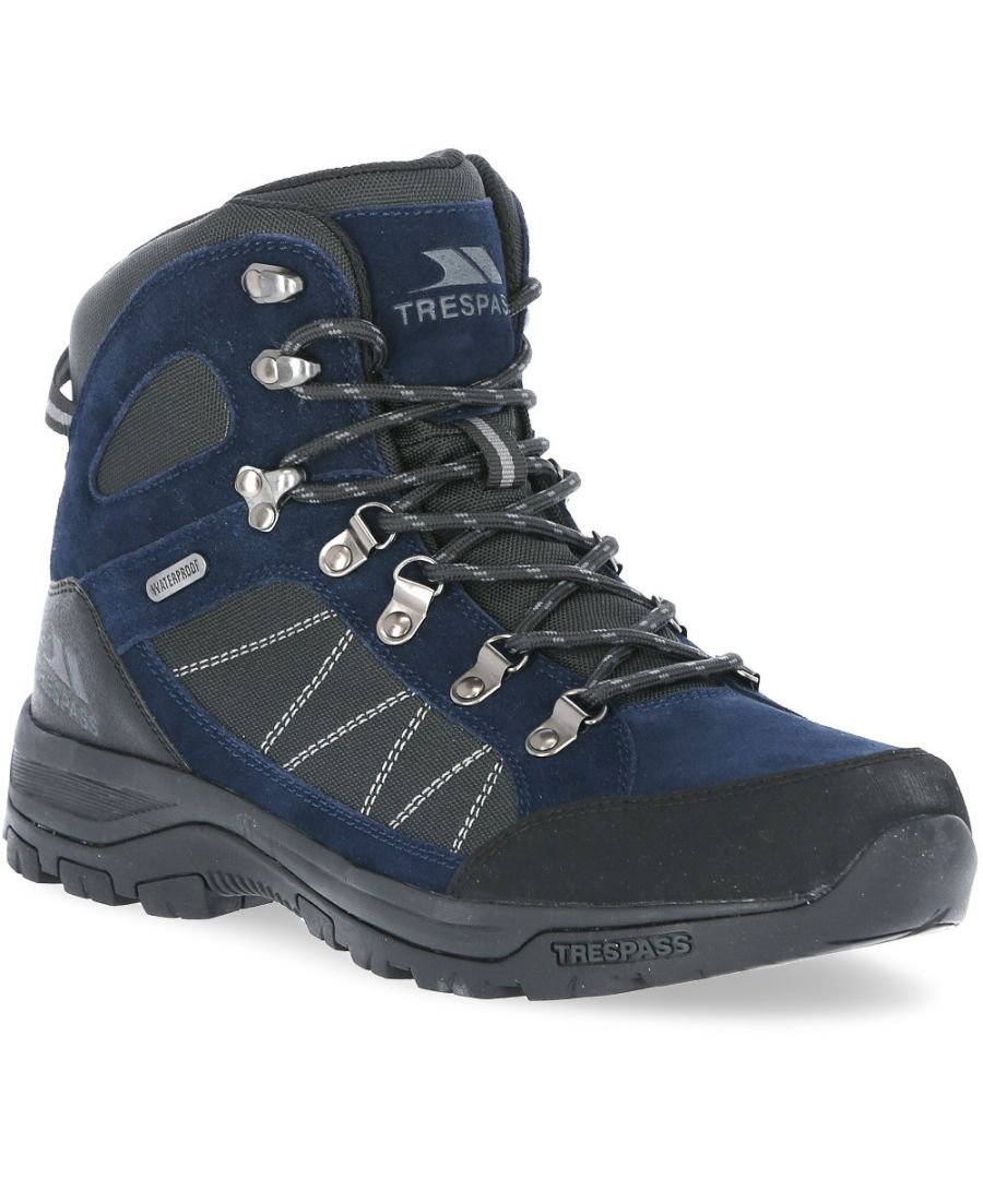 Image for Trespass Mens Chavez Waterproof Mid Cut Walking Boots